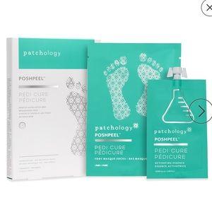 Patchology Poshpeel AHA BHA Pedi Cure -1 pair NEW